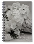 Blossom And The Bee Cornucopia  Spiral Notebook