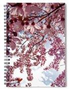 Blossom Artwork Spring Flowers Art Prints Giclee Spiral Notebook