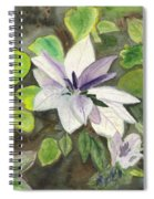 Blossom At Sundy House Spiral Notebook