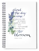 Blossom I Spiral Notebook