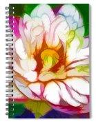 Blossom Lotus Flower Spiral Notebook