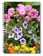 Blossoming Flowers Spiral Notebook