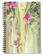Blossoming Spring - Crab Apple Spiral Notebook