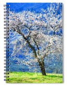 Blossoming Spiral Notebook