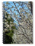 Blossoms And The Bard Spiral Notebook