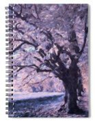 Blossoms In Winter Spiral Notebook