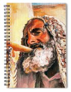 Blow The Trumpet In Zion Spiral Notebook