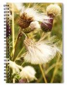 Blowing Away Spiral Notebook