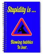 Blowing Bigstock Donkey 171252860 Spiral Notebook