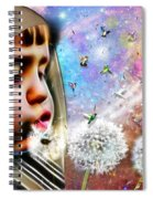 Blowing Blessings Spiral Notebook