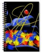 Blown Spiral Notebook