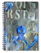Blu Spiral Notebook