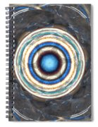 Blue Abalone Sphere Spiral Notebook