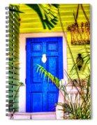 Blue And Green Spiral Notebook