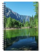 Blue And Green River Spiral Notebook