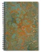 Blue And Orange Spiral Notebook