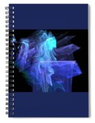 Blue Angel Spiral Notebook