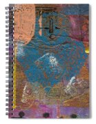 Blue Angel Watches Over Me Spiral Notebook