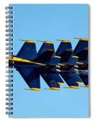 Blue Angels 1-4 Spiral Notebook