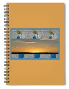 Blue Angels At Sunset Spiral Notebook