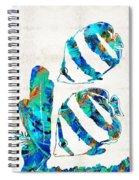 Blue Angels Fish Art By Sharon Cummings Spiral Notebook