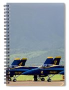 Blue Angels Spiral Notebook