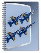 Blue Angels - Oof Spiral Notebook
