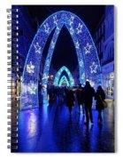 Blue Archways Of London Spiral Notebook