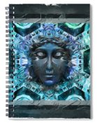 Blue Atheahon  Spiral Notebook
