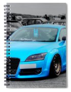 Blue Audi Spiral Notebook