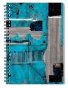 Blue Bag Ditty  Spiral Notebook