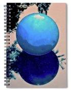 Blue Ball 2 Spiral Notebook