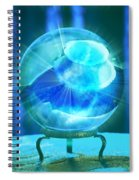 Blue Ball Spiral Notebook