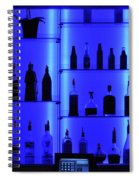 Blue Bar Spiral Notebook