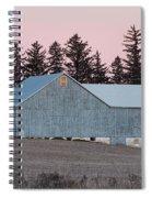 Blue Barn Spiral Notebook