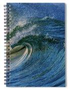 Blue Barrel Spiral Notebook