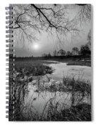 Blue Bayou Bw Spiral Notebook