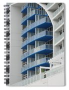 Blue Bayu Spiral Notebook