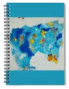 Blue Beast Spiral Notebook