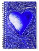 Blue Beats Spiral Notebook