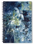 Blue Beauties Spiral Notebook