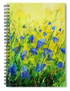 Blue Bells  Spiral Notebook