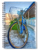 Blue Bike Spiral Notebook