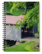 Blue Bird Farm Spiral Notebook