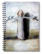 Blue Birds Spiral Notebook
