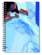 Blue Blanket Spiral Notebook