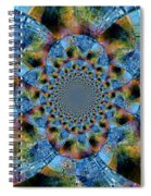 Blue Bling Spiral Notebook