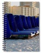 Blue Blocker Spiral Notebook