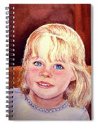 Blue Blue Eyes Spiral Notebook