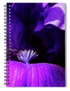 Blue Blue Iris Spiral Notebook